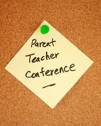 Parent Teacher Conference sign