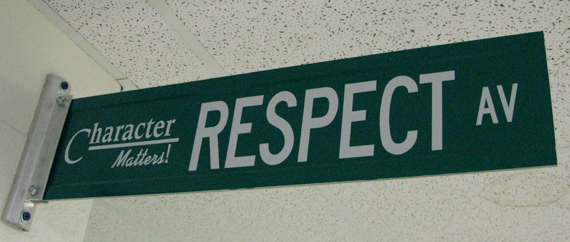 respect sign