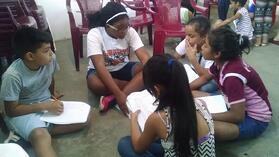 Maya and La Carpio Students
