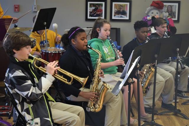 Liberty Christian School Middle School Ensemble