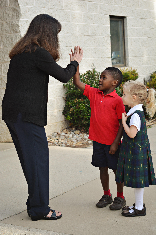 Christian school staff